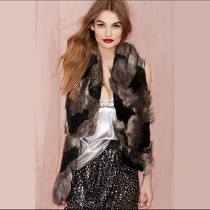 Nasty Gal Total Fox Faux Fur Scarf